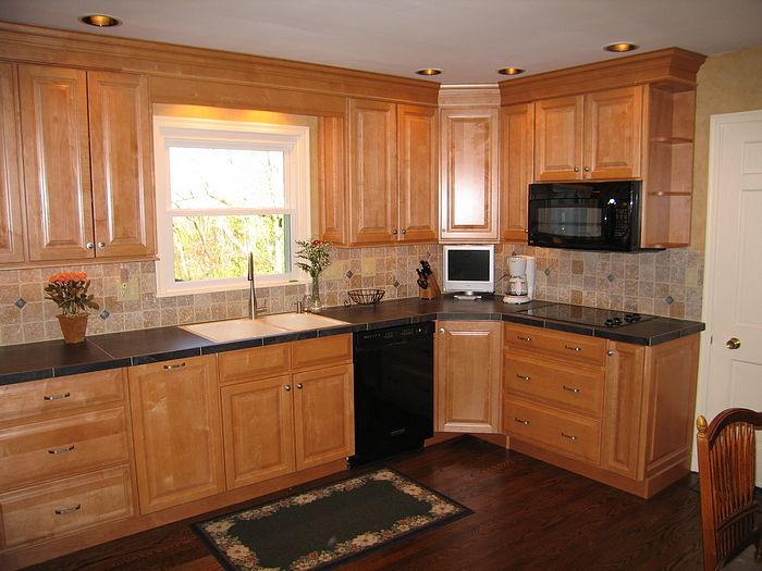 good Images Of Remodeled Kitchens #7: Remodled kitchen in Ft. Wright, Kentucky (Cincinnati) Picture 1