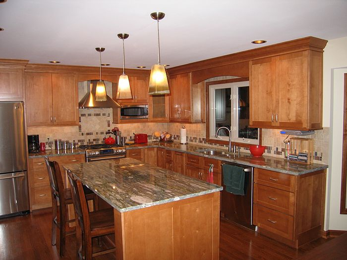 Remodled kitchen in Anderson Township, Ohio (Cincinnati) Picture 1