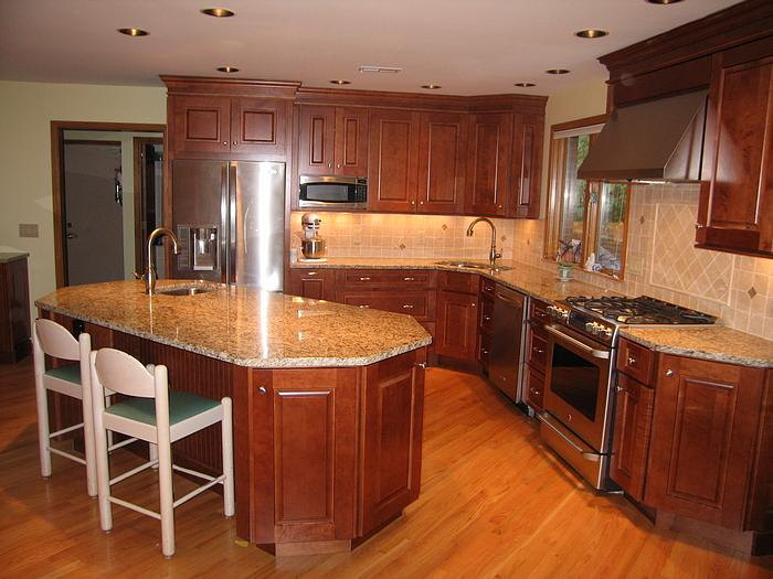 Pictures new kitchen in delhi township ohio for Pictures of new kitchens