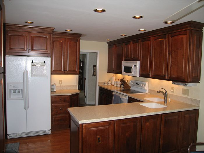 charming Pics Of Remodeled Kitchens #4: Picture new kitchen in Montgomery, Ohio